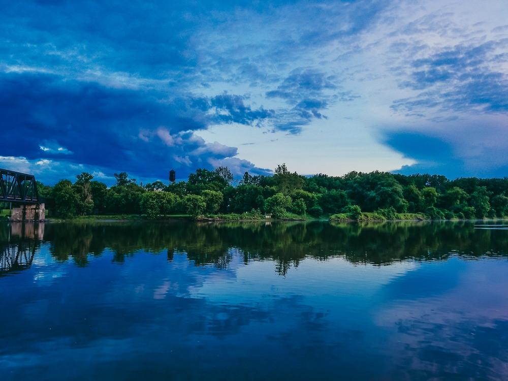 Пейзажные снимки бразильского фотографа на Iphone X