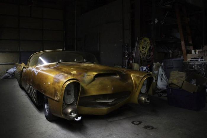 The Golden Sahara II — самый продвинутый автомобиль 1950-х