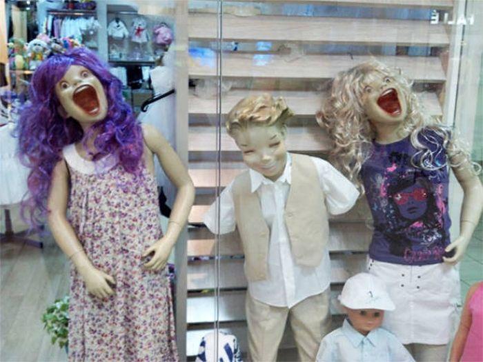 Забавные и странные манекены