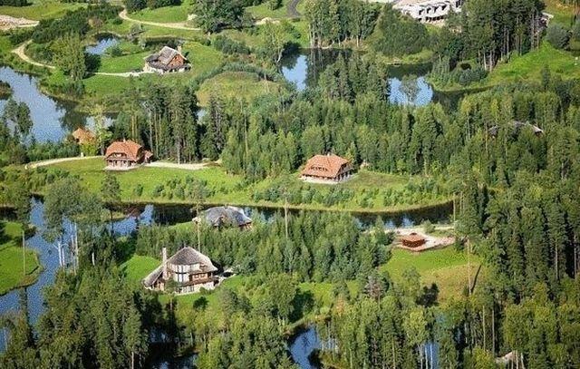 Аматциемс — современный эко-поселок в Латвии
