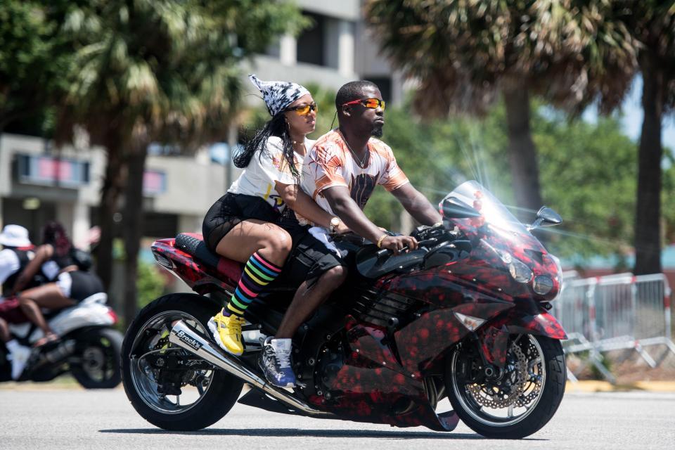 Black Bike Week — ежегодный слет чернокожих байкеров в США
