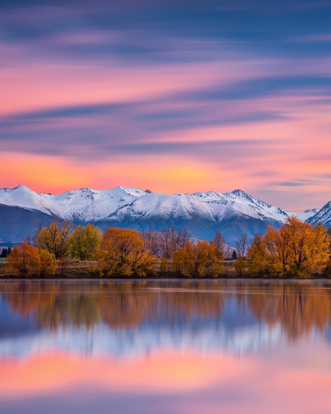 Красивые пейзажи Новой Зеландии на снимках Лори Винтер