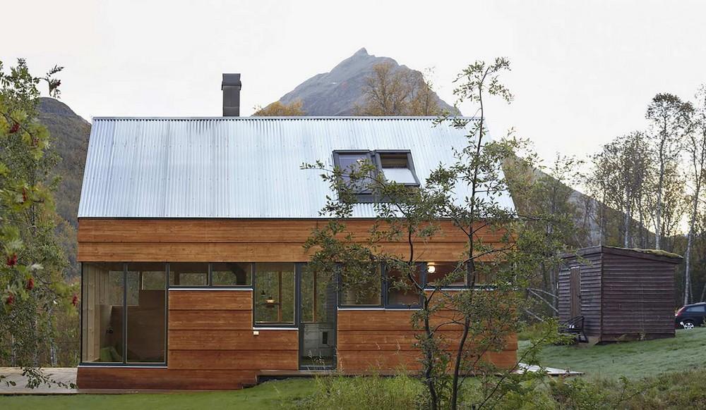 Маленький дачный домик в Норвегии