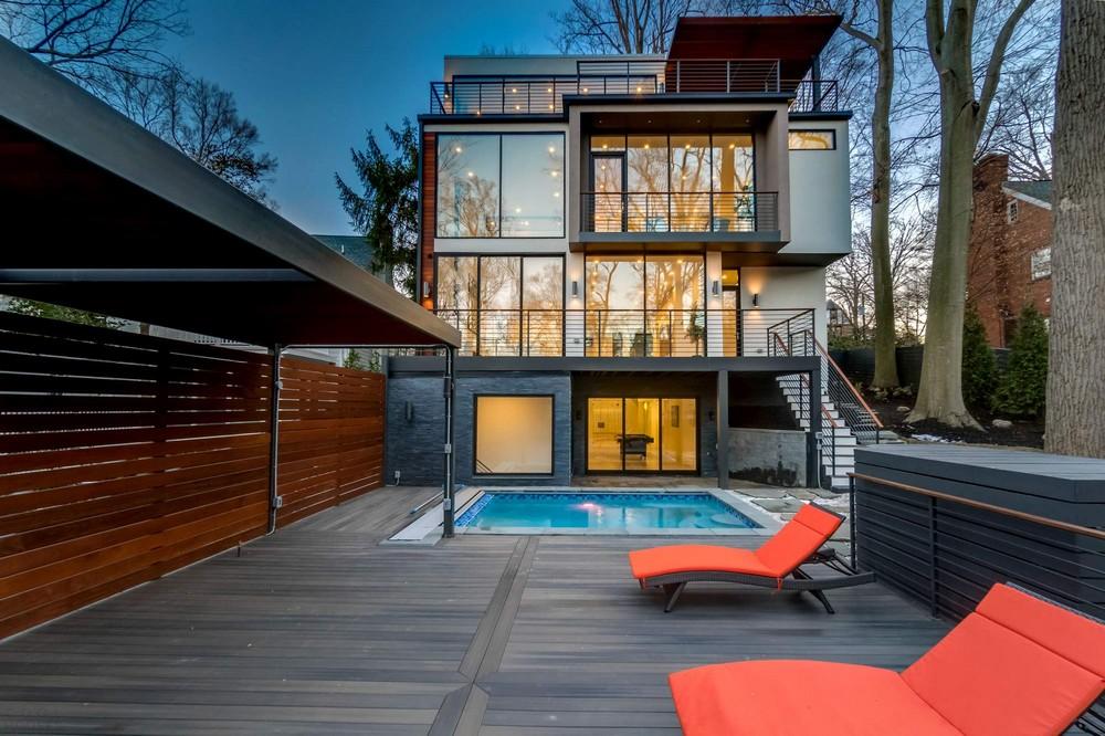 Семейный дом в Вашингтоне