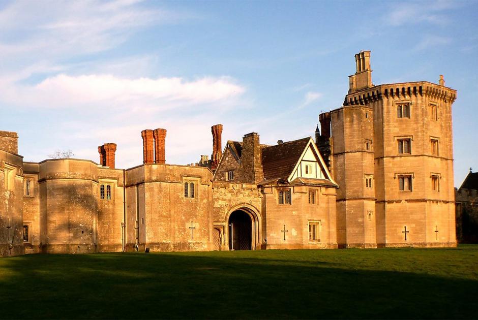 Старинный замок в Великобритании