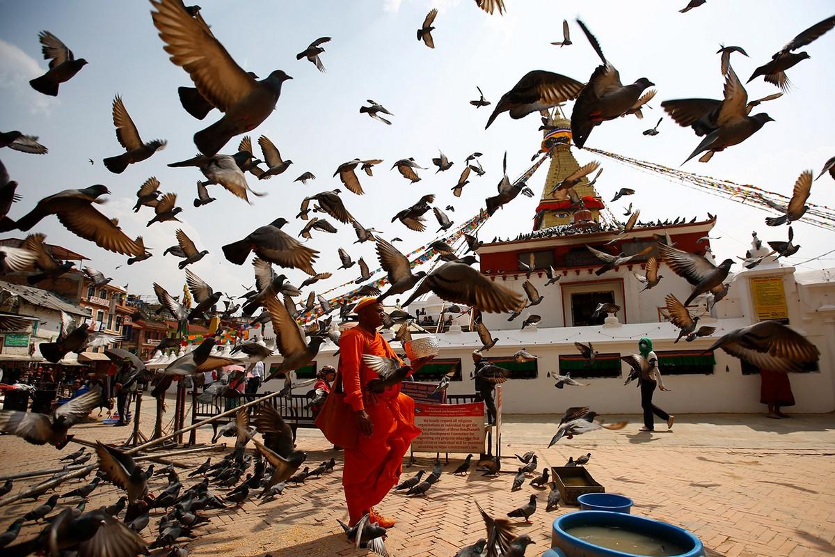 Красочные снимки праздников Непала от Сканды Гаутама