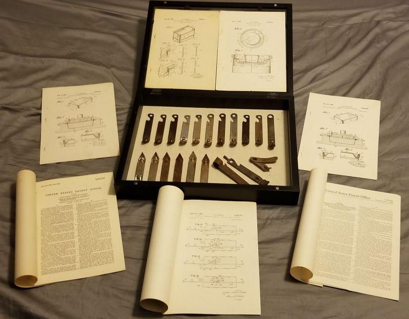 Оригинальные патенты консервных банок и консервных ножей