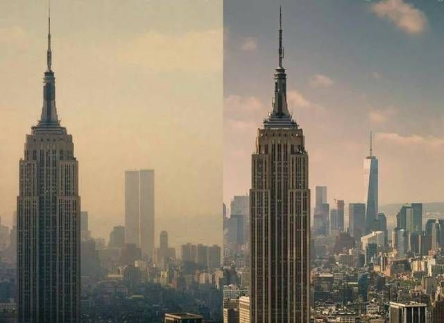 Время меняет все: до и после