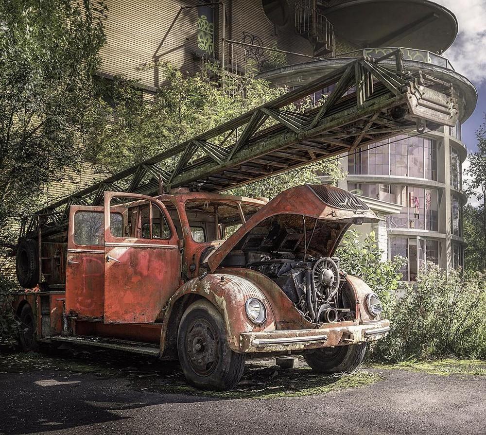Заброшенные места Германии от Маркуса Экке Ви Канте