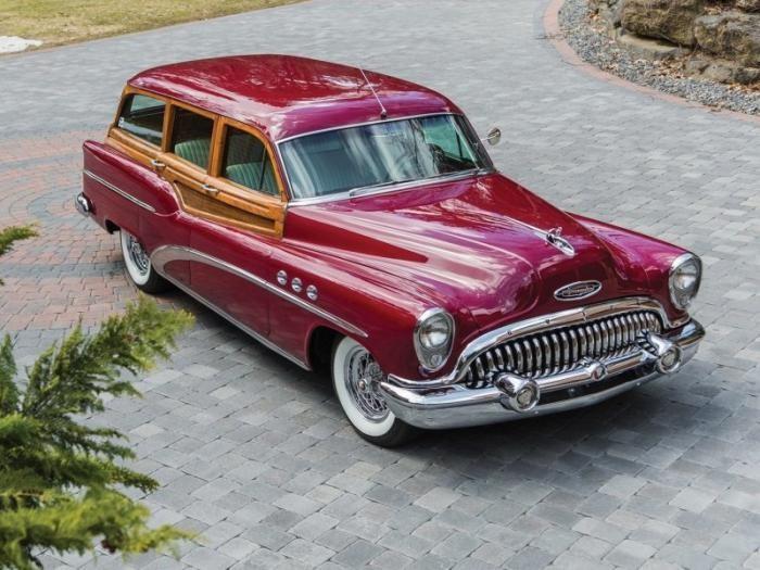 Buick Estate Wagon 1953 — деревянный универсал
