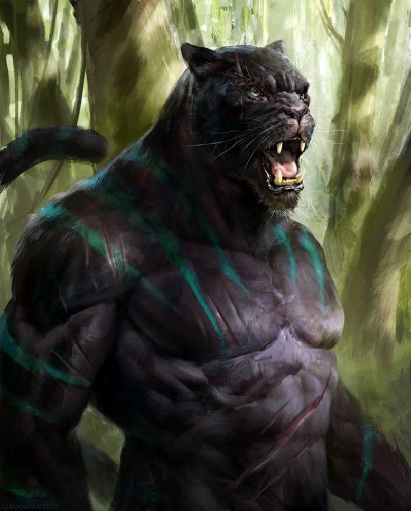 Человекоподобные звери — если бы эволюция пошла по другому пути