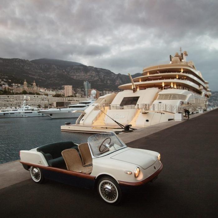 Fiat 500 Spiaggina — пляжный автомобиль для магната