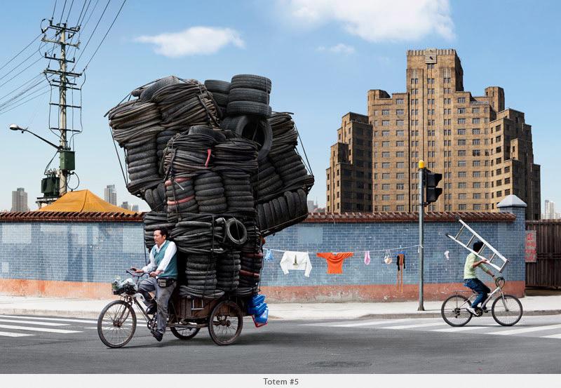 Фотопроект «Тотемы» о китайской мечте