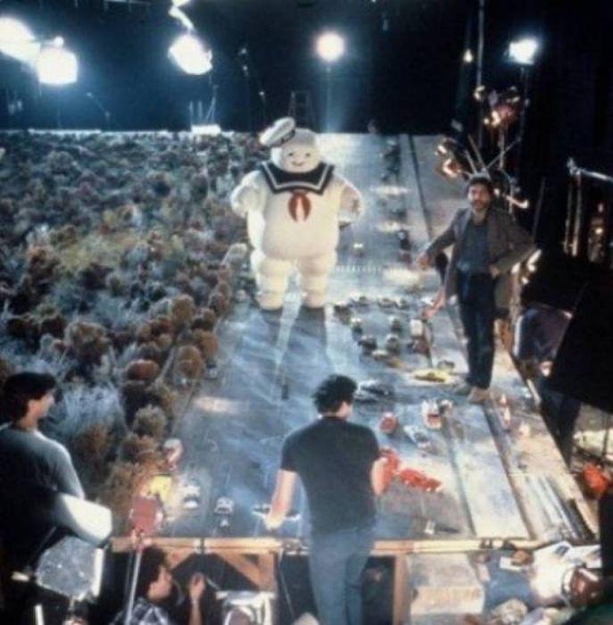 Кадры со съемок известных фильмов