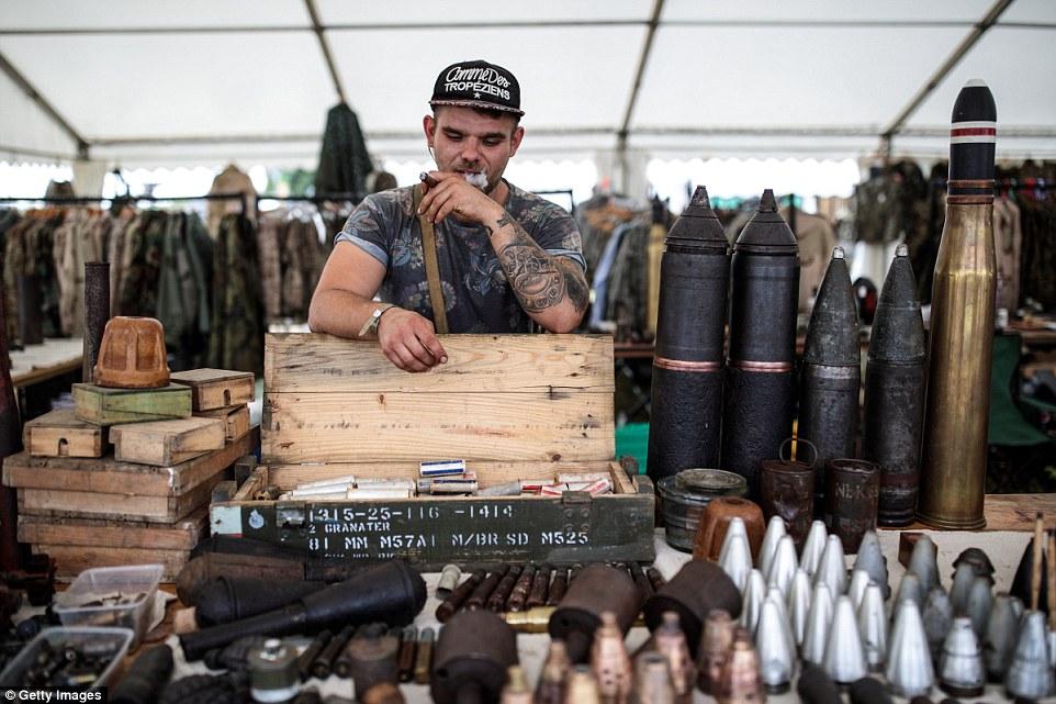 Крупнейшее шоу военной техники в Великобритании