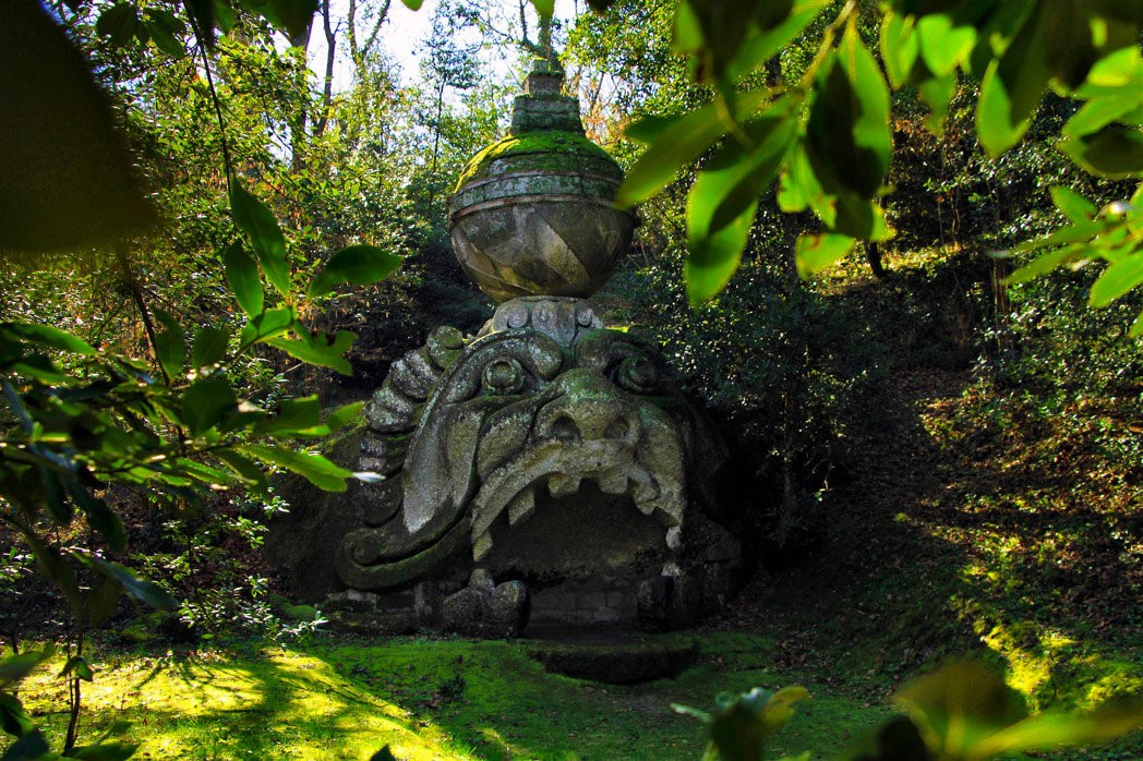 Парк с сюрпризом – «Сад чудовищ» в Италии