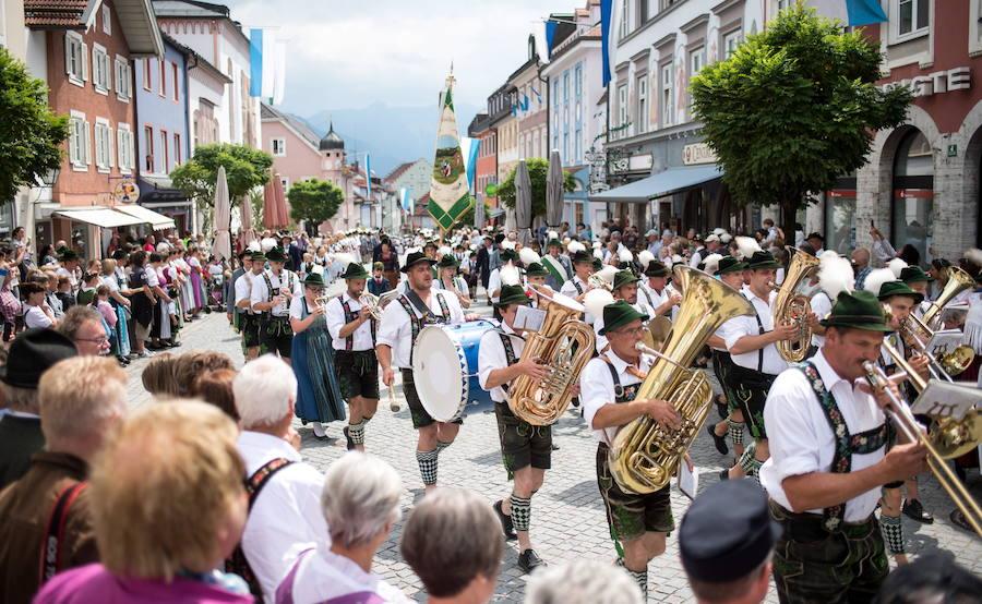 Традиционный Гаутрахтенфест в Германии