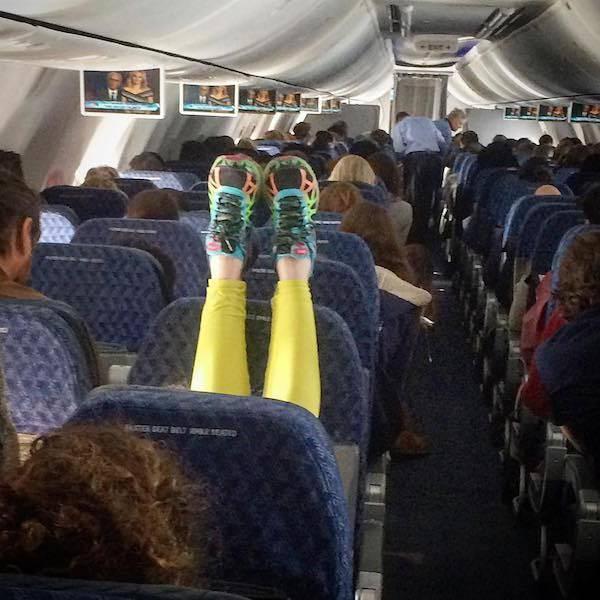 Ужасные пассажиры, которые не знакомы с правилами приличия