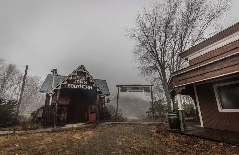 Заброшенный парк развлечений «Призрачный город»