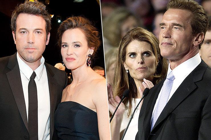 10 знаменитостей, которые не умеют хранить верность