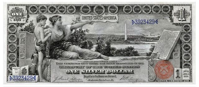 Эволюция американских долларовых банкнот