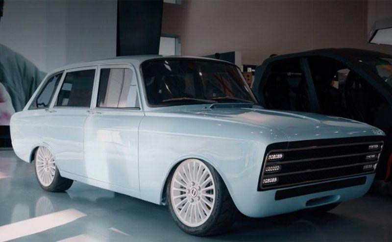 «Калашников» показал конкурента Tesla на базе «Москвича»