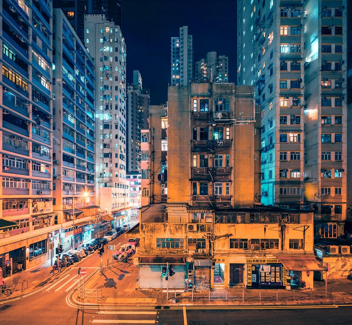Крошечные дома Гонконга в фотопроекте Николауса Грюнвальда