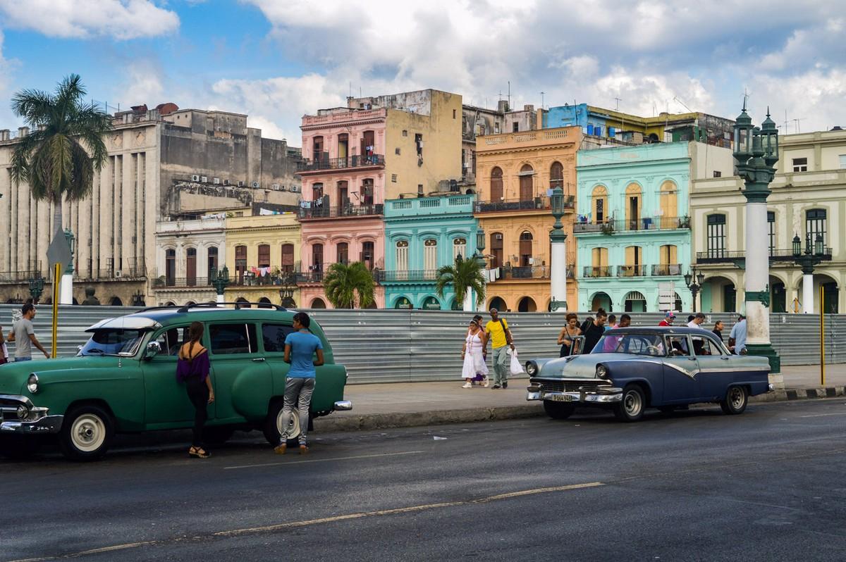 Куба на колоритных снимках Робина Христа