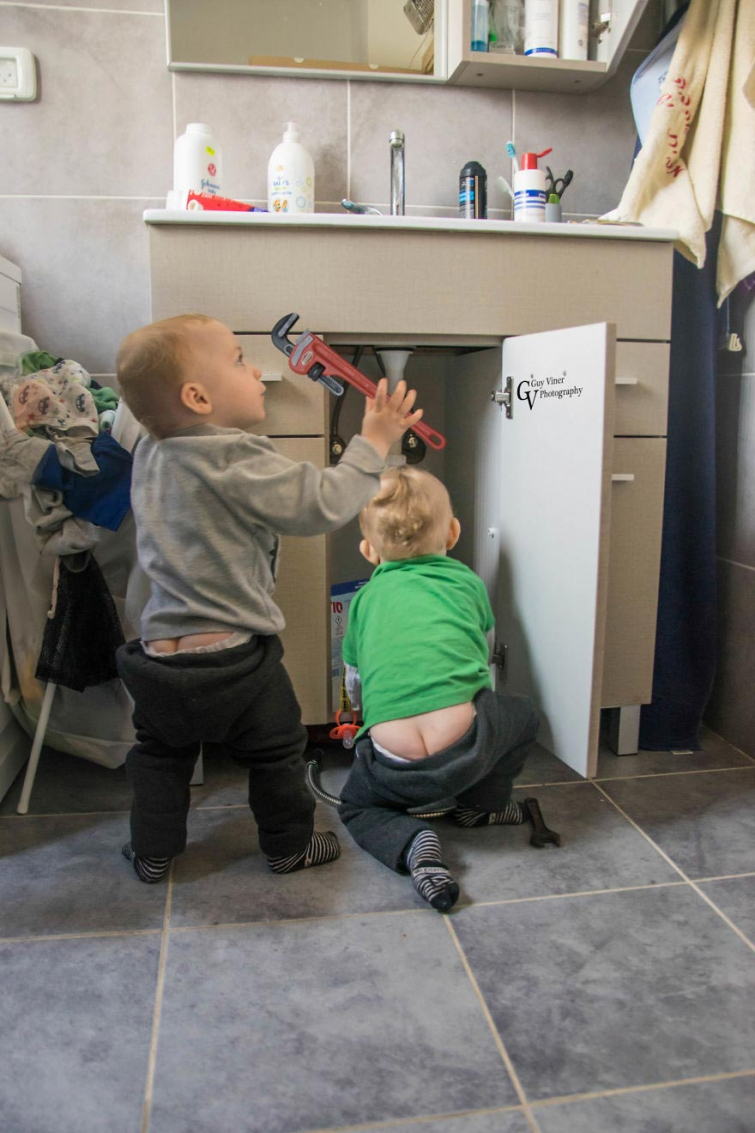 Папа-фотограф делает забавные и милые снимки своих детей