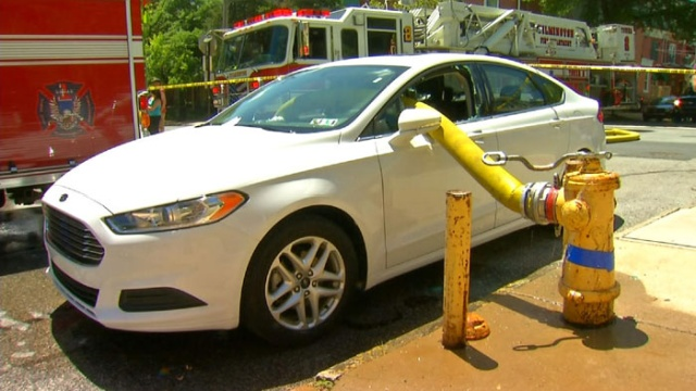 Почему не стоит парковаться у пожарного гидранта
