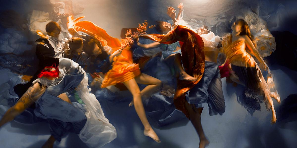 Проект «Музы»: подводные снимки от Кристи Ли Роджерс