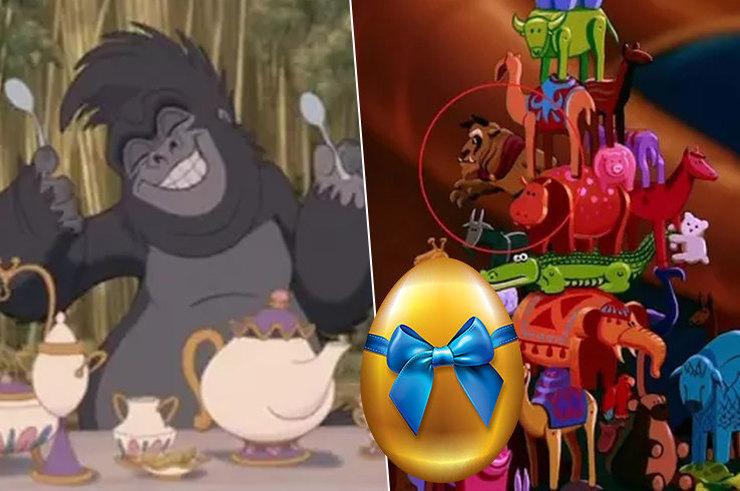 Скрытые «пасхалки» в диснеевских мультфильмах