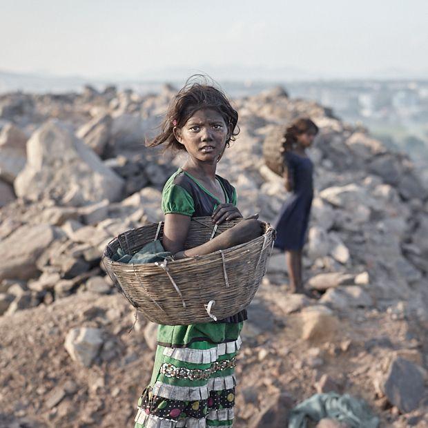 Как добывают уголь в Индии
