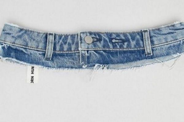 Кусок джинсов за 23 бакса под видом эксклюзивного пояса