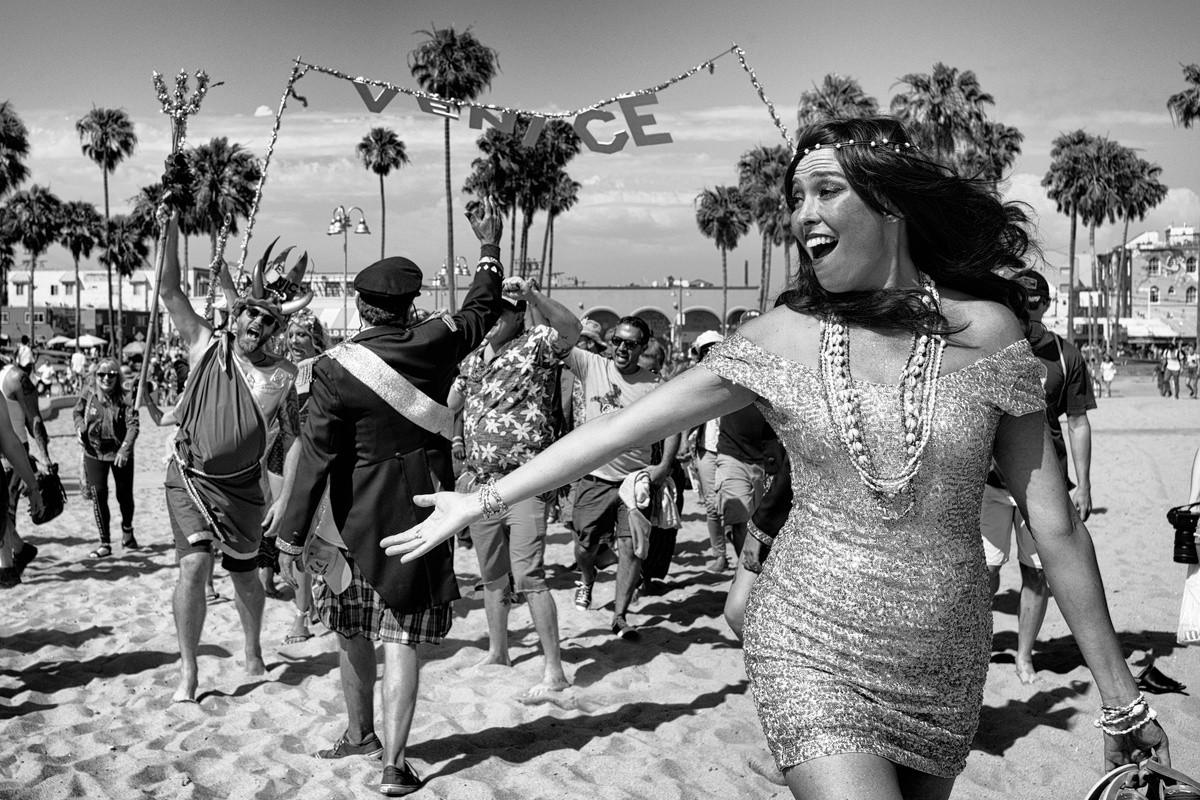 Лос-анджелесская «Венеция» в фотопроекте Дотана Сагая