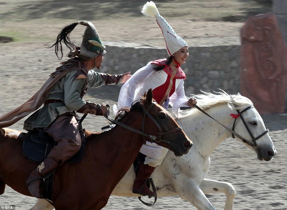 Традиционные игры кочевников в Кыргызстане 2018