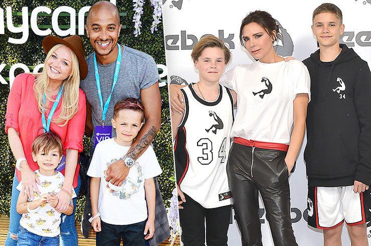 Участницы Spice Girls и их дети