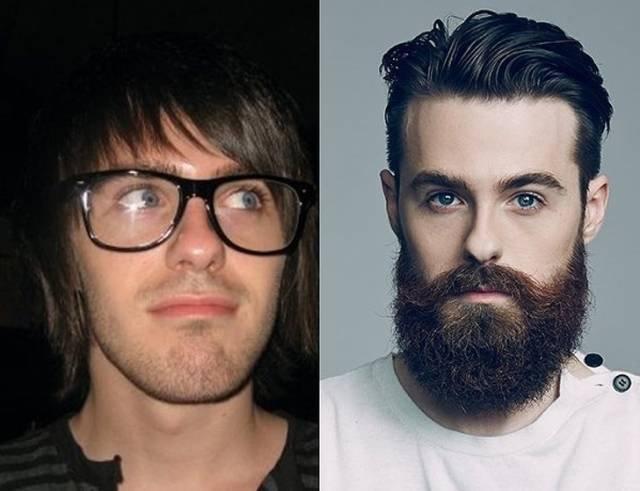 18 мужчин, которым с бородой лучше