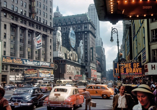 Архивные фотографии Америки прошлого века