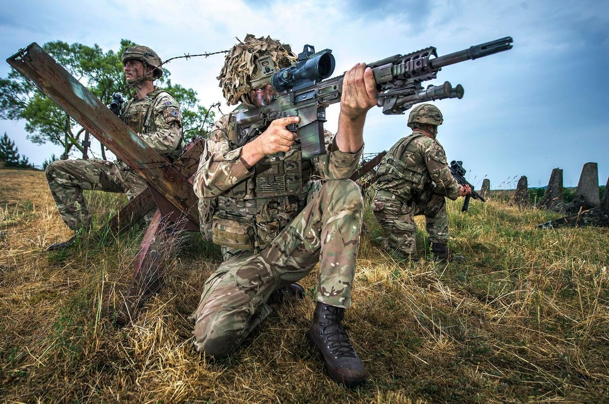 Британские солдаты на лучших работах конкурса военной фотографии