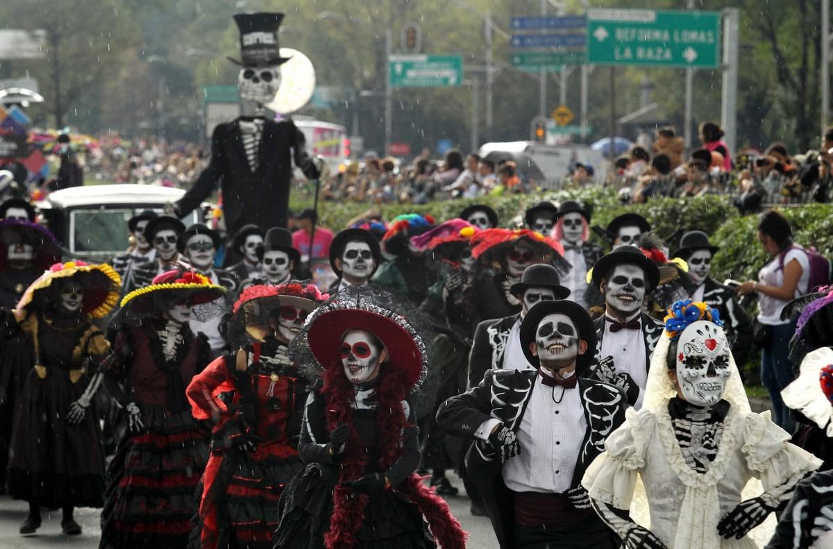 День мертвых в Мехико 2018