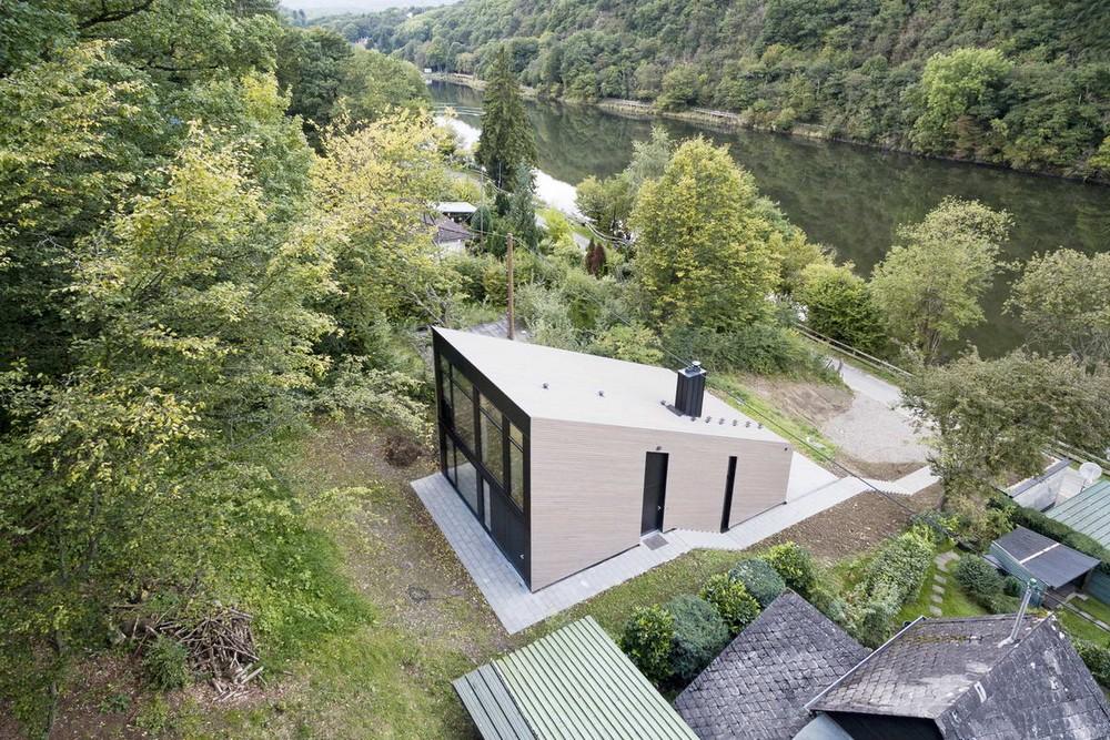 Домик для отдыха у озера в Германии
