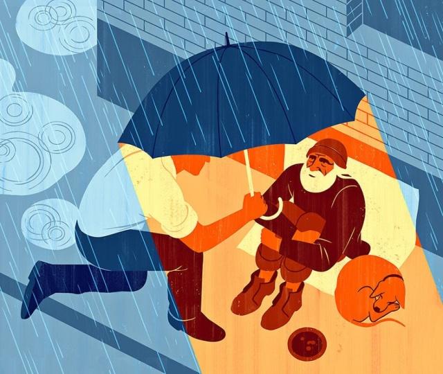 Иллюстрации о современном обществе от Джои Гуидона