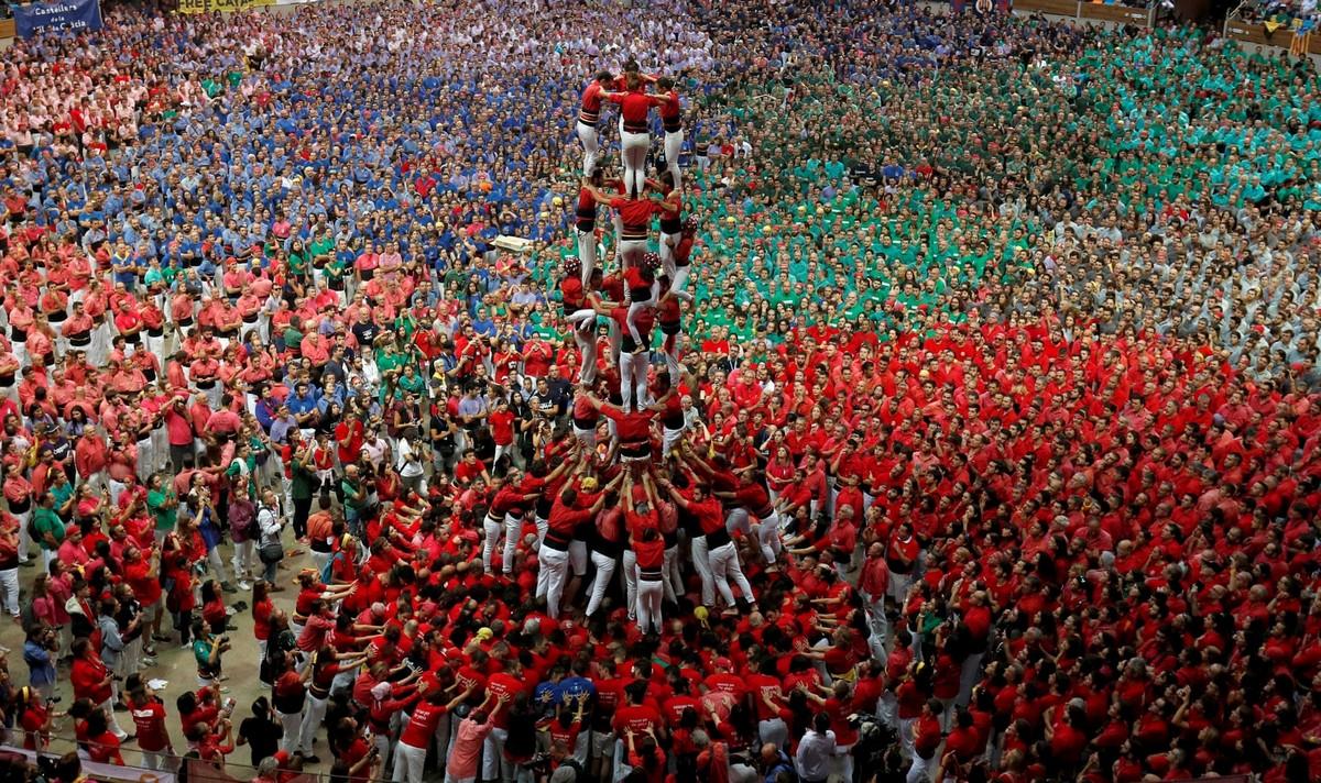 Кастельерс — человеческие башни Каталонии