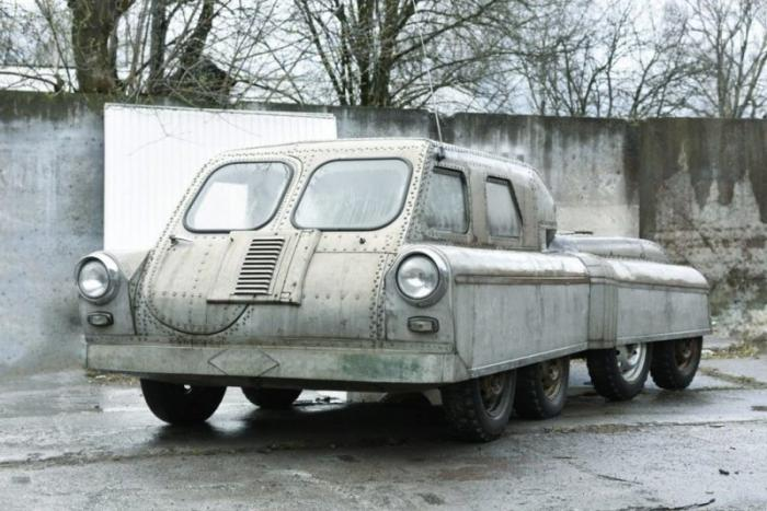 Машина-амфибия «Арго» из 1960-х