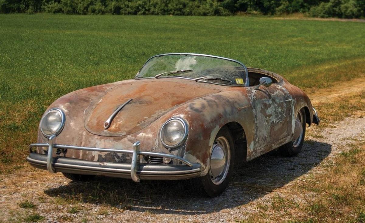 Ржавый Porsche стоит больше нового 911
