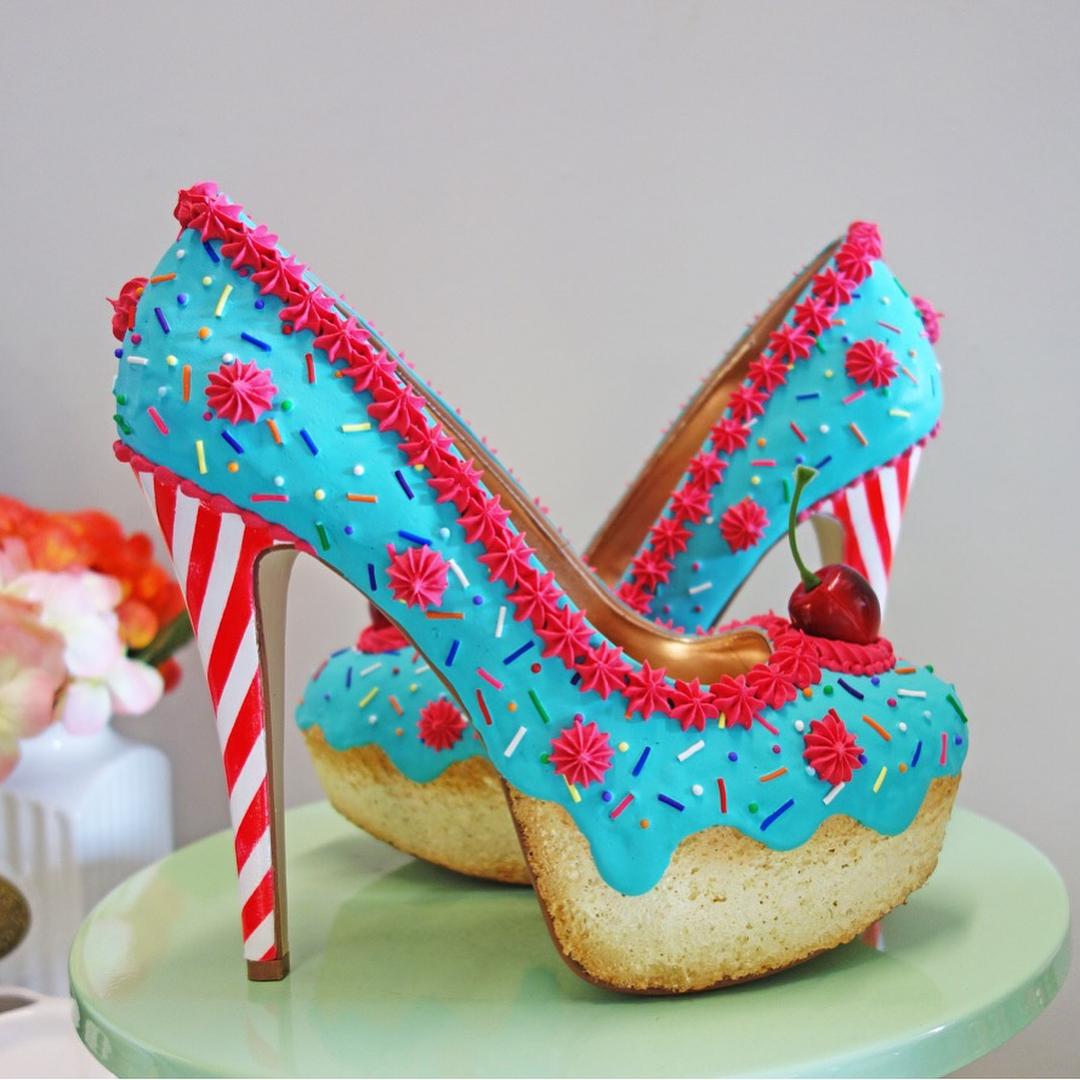 Сладкая обувь от Криса Кэмпбелла