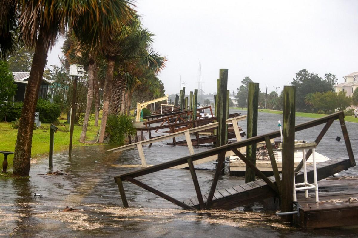 Ураган «Майкл» обрушился на Флориду