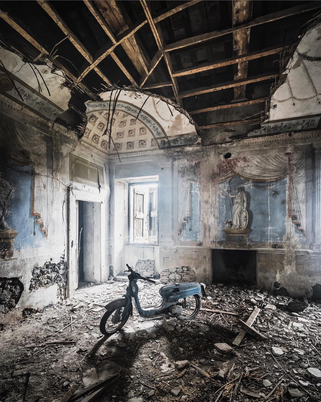 Заброшенные места в объективе Саймона Йонга