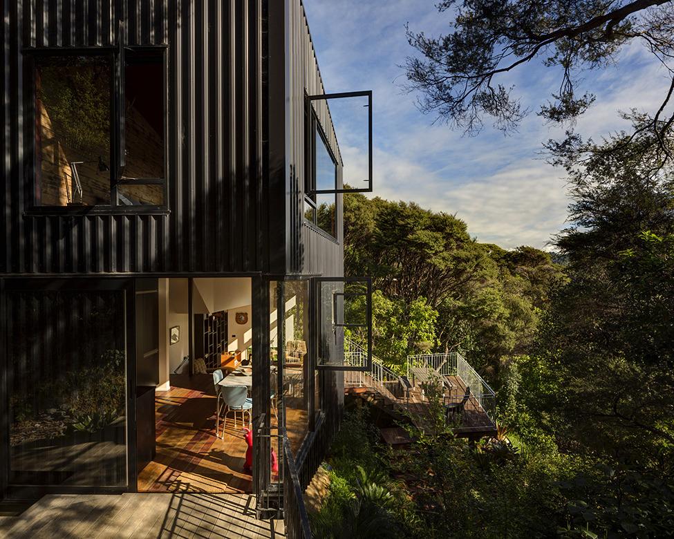 Черный дом в Новой Зеландии